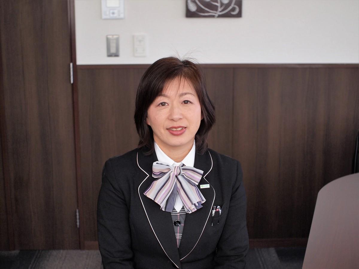 依田さゆり(専務) エコピット