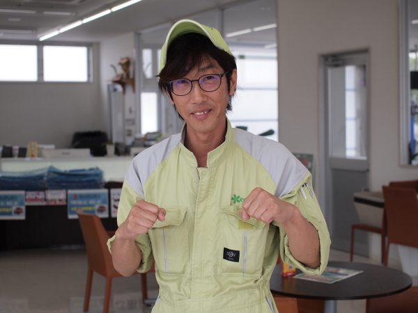 楢﨑和光 エコピットサービス九蟠店 フロント