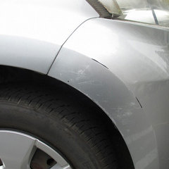 フロントバンパー擦り傷 板金修理・塗装