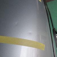 ボンネット板金修理・塗装