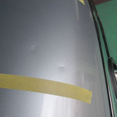 ボンネット凹み板金修理・塗装