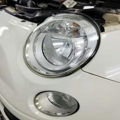 フィアット 500 ヘッドライトコーティング(塗装)