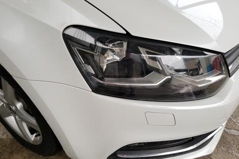 VW POLO ヘッドライトコーティング(塗装)